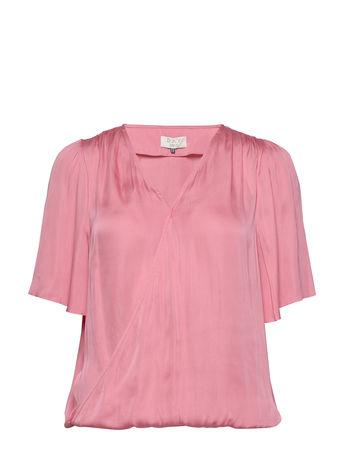 Day Birger et Mikkelsen Day Lively Blouses Short-sleeved Pink  rot