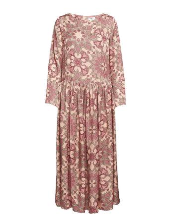 Day Birger et Mikkelsen Day Muse Kleid Knielang Pink  braun