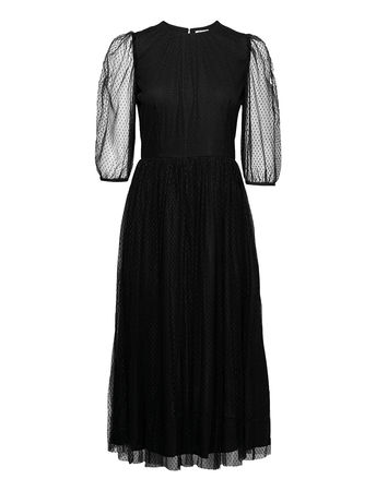 Day Birger et Mikkelsen Day Night Out Kleid Knielang Schwarz  schwarz