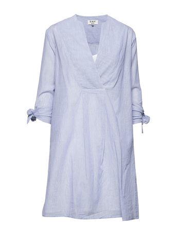 Day Birger et Mikkelsen Day Palazzo Kurzes Kleid Blau  blau