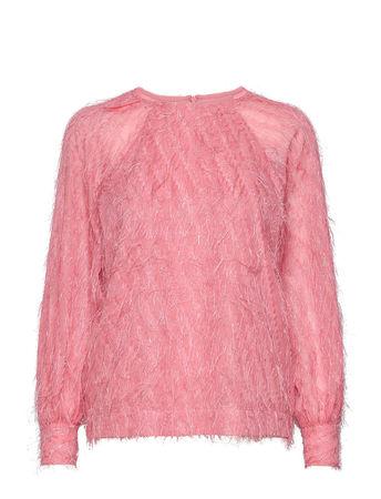 Day Birger et Mikkelsen Day Palm Bluse Langärmlig Pink  rot