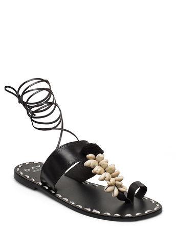 Day Birger et Mikkelsen Day Shell Sandal Shoes Summer Shoes Flat Sandals Schwarz  schwarz