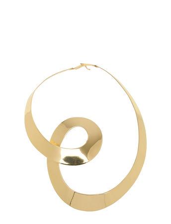 Day Birger et Mikkelsen Day Spiral Necklace Accessories Jewellery Necklaces Statement Necklaces Gold  orange