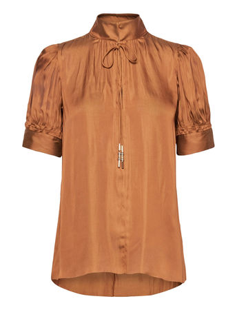 Day Birger et Mikkelsen Day Town Blouses Short-sleeved  orange