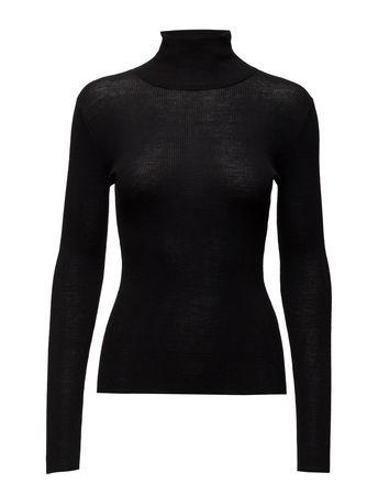 Day Birger et Mikkelsen Day Whitney Rollkragenpullover Poloshirt Schwarz  schwarz