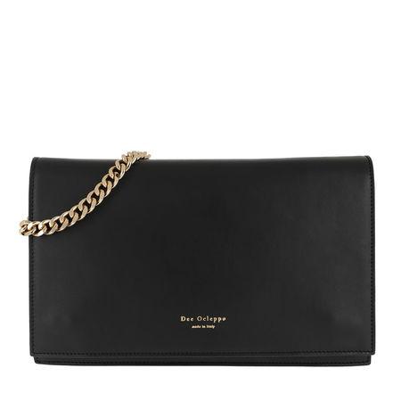 Dee Ocleppo  Satchel Bag  -  Dee Kara Flap Shoulder Bag Black  - in schwarz  -  Satchel Bag für Damen schwarz