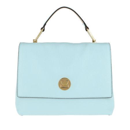 COCCINELLE  Satchel Bag  -  Liya Satchel Bag Atmosphere/Desert  - in teal-cyan  -  Satchel Bag für Damen tuerkis