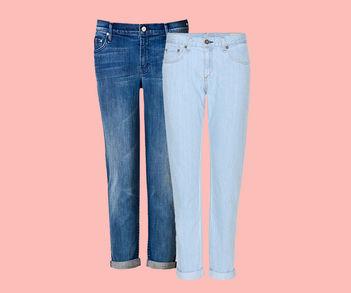 Designer Luxus Boyfriend-Jeans