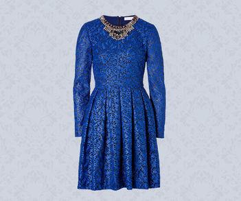 Designer Luxus Jacquard-Kleider