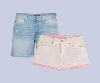 Designer Luxus Jeans-Shorts