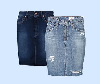 Designer Luxus Jeansröcke