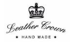 Designer Luxus Leather Crown