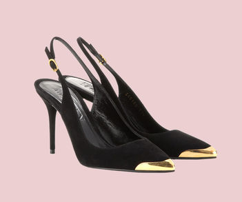 Designer Luxus Slingbacks