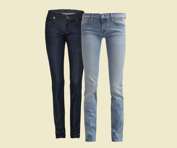 Designer Luxus Straight Leg-Jeans
