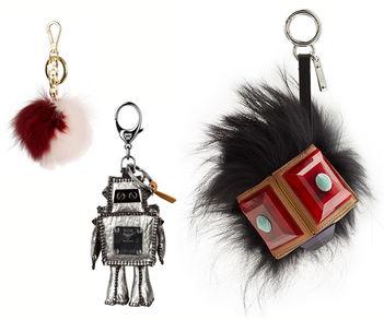 Designer Luxus Taschenanhänger