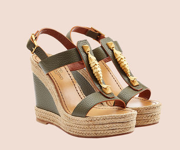 Designer Luxus Wedges