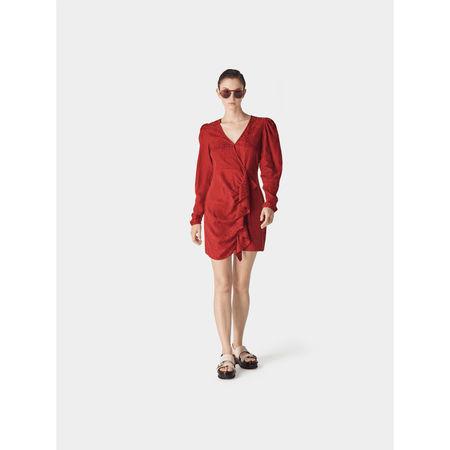 Designers Remix Collect. Kleid mit Rüschen und Volant