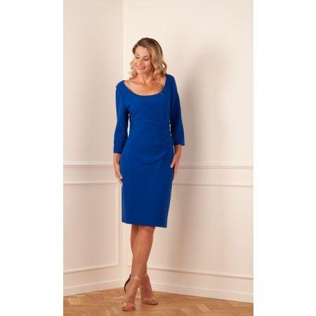 Diane von Furstenberg  Kleid Blau braun