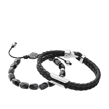 Diesel  Armbänder - Stackables Bracelet - in schwarz - für Damen schwarz