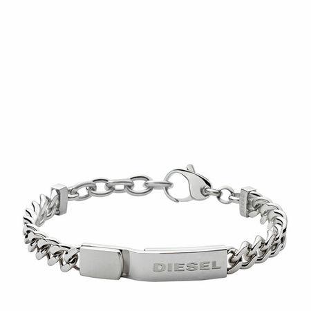 Diesel  Armbänder - Stacked Stainless-Steel Bracelet - in silber - für Damen