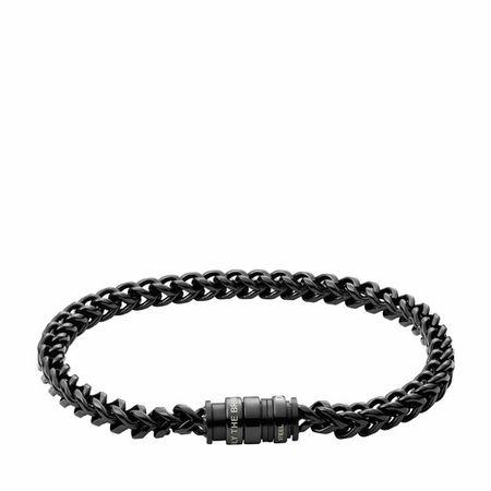 Diesel  Armbänder - Stainless Steel Chain-Link Bracelet - in schwarz - für Damen