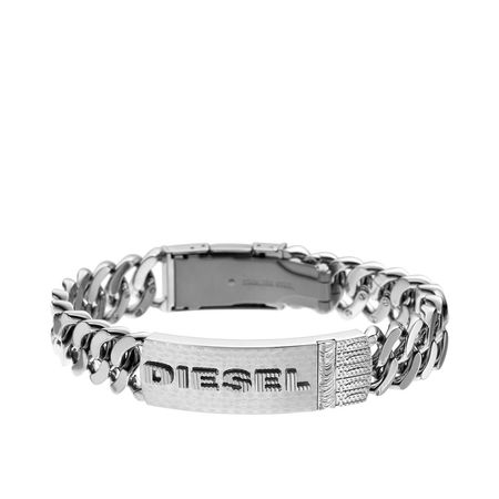 Diesel  Armband  -  Bracelet DX032604018 Silver  - in silber  -  Armband für Damen grau