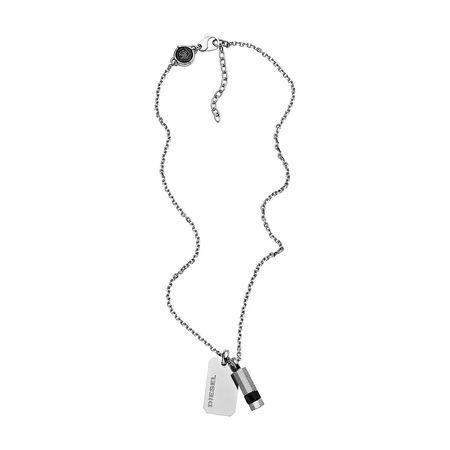 Diesel  Halskette - Necklace DX1156040 Silver - in silber - für Damen