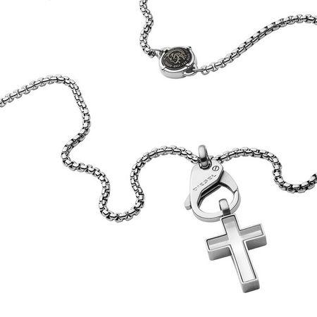 Diesel  Halsketten - Icon Necklace - in silver - für Damen
