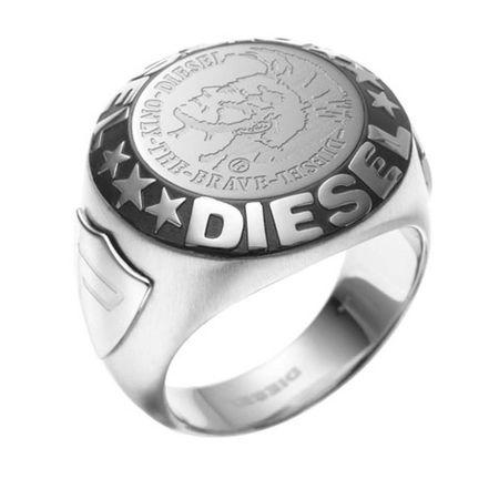 Diesel  Ring  -  Ring DX0182040 Silver  - in silber  -  Ring für Damen grau