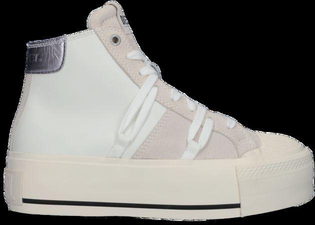 Diesel  Sneaker High Astico S-astico Dsl My Wedge Weiß Damen Damen Größe 36 Leder