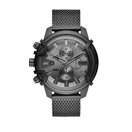 Diesel  Uhr - Griffed Chrono Watch Grey - in gunmetal - für Damen