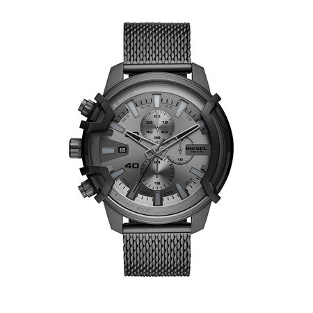Diesel  Uhr - Griffed Chrono Watch Grey - in gunmetal - für Damen grau