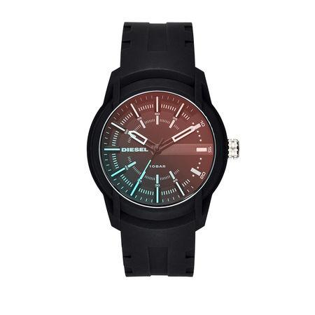 Diesel  Uhr  -  Men Armbar Watch Black  - in schwarz  -  Uhr für Damen schwarz