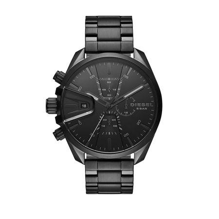 Diesel  Uhr  -  MS9 Men Watch Black  - in schwarz  -  Uhr für Damen schwarz