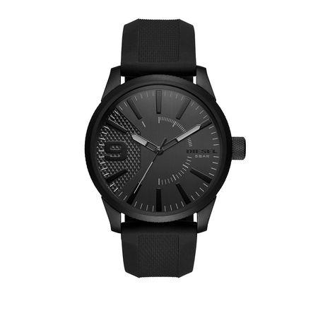 Diesel  Uhr  -  RASP SCHWARZ  - in schwarz  -  Uhr für Damen schwarz