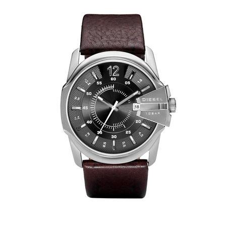 Diesel  Uhr  -  Watch Master Chief DZ1206 Silver  - in silber  -  Uhr für Damen schwarz