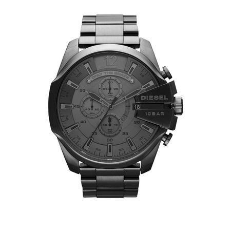 Diesel  Uhr - Watch Mega Chief DZ4282 Grey - in grau - für Damen grau