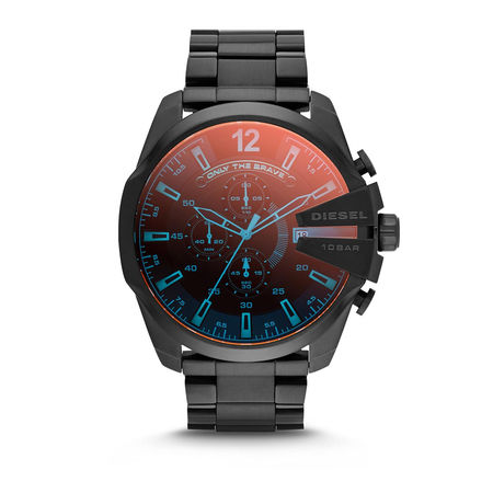 Diesel  Uhr - Watch Mega Chief DZ4318 Black - in schwarz - für Damen schwarz