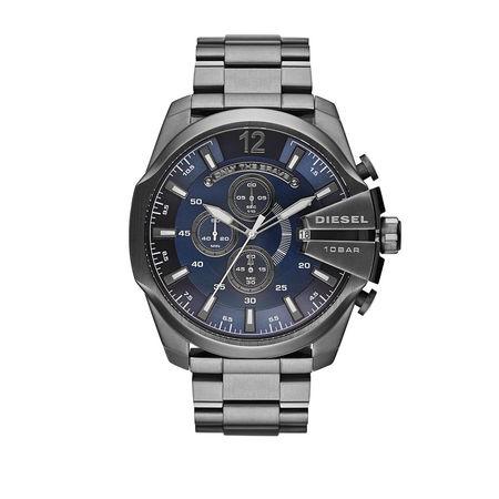 Diesel  Uhr  -  Watch Mega Chief DZ4329 Grey  - in grau  -  Uhr für Damen grau