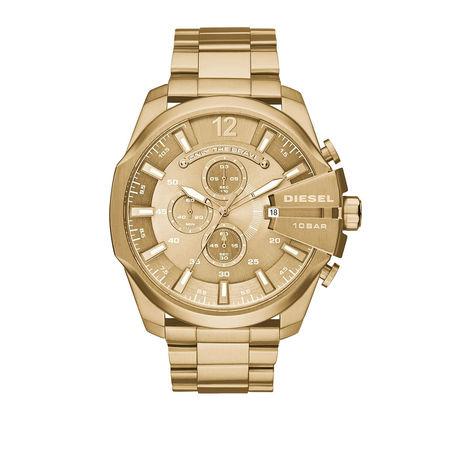 Diesel  Uhr - Watch Mega Chief DZ4360 Gold - in gold - für Damen orange