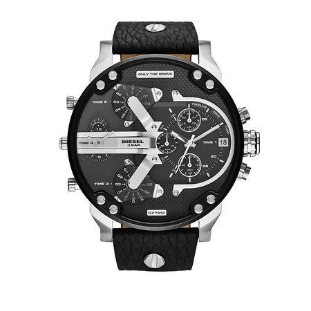 Diesel  Uhr  -  Watch Mr. Daddy 2.0 Silver  - in schwarz  -  Uhr für Damen grau
