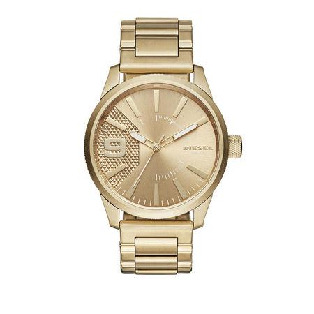 Diesel  Uhr  -  Watch Rasp DZ1761 Gold  - in gold  -  Uhr für Damen orange