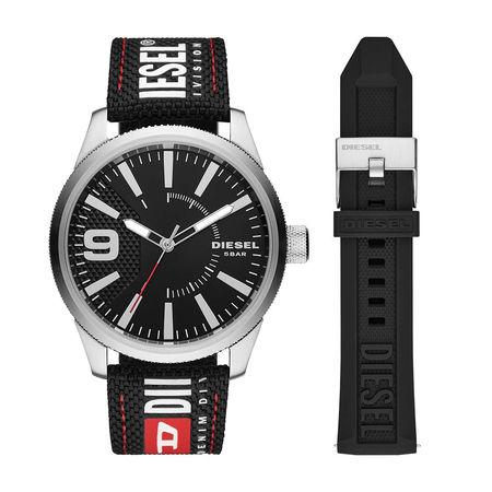 Diesel  Uhr - Watch Set RASP RD DZ1906 Silver - in silber - für Damen