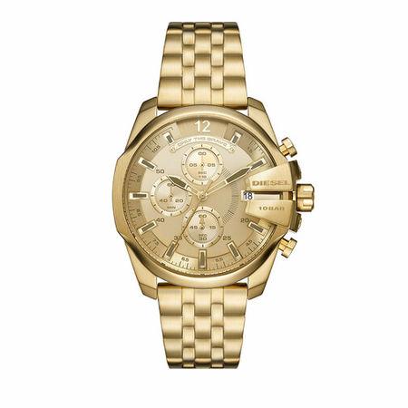 Diesel  Uhren - Baby Chief Chronograph Stainless Steel Watch - in gold - für Damen