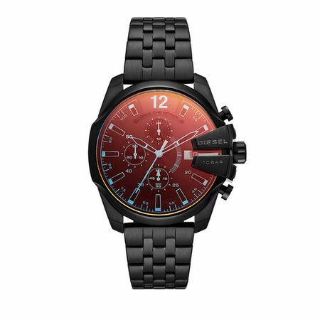 Diesel  Uhren - Baby Chief Chronograph Stainless Steel Watch - in schwarz - für Damen