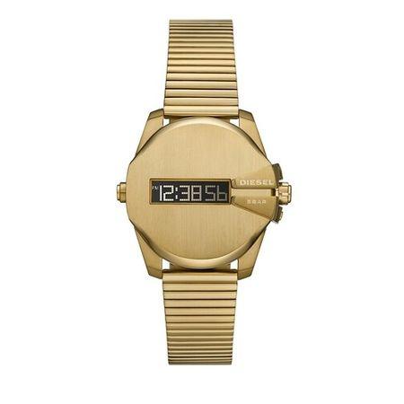 Diesel  Uhren - Baby Chief Digital Stainless Steel Watch - in gold - für Damen