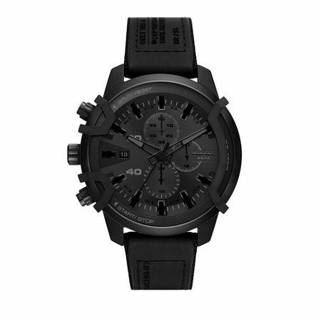 Diesel  Uhren - Griffed Chronograph Canvas Watch - in black - für Damen