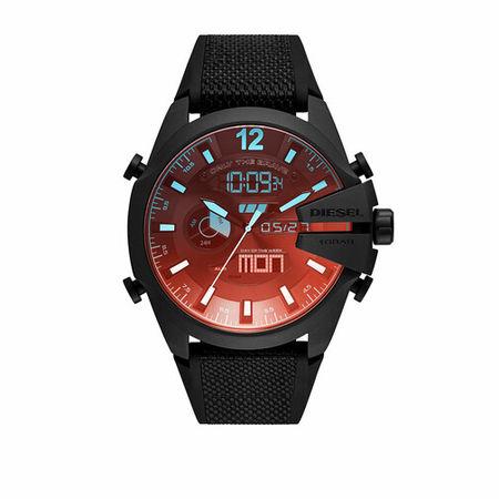 Diesel  Uhren - Mega Chief Analog-Digital Watch - in schwarz - für Damen schwarz