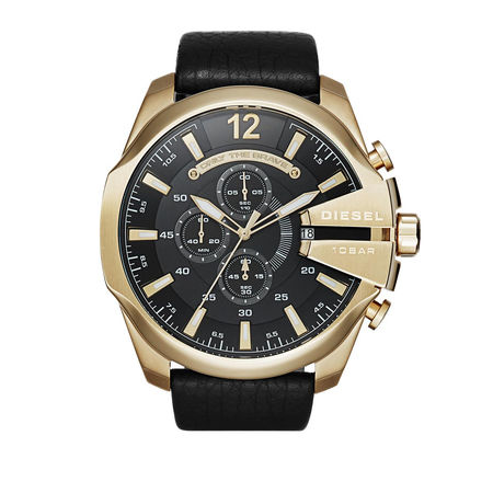 Diesel  Uhren - MEGA CHIEF - in gold - für Damen
