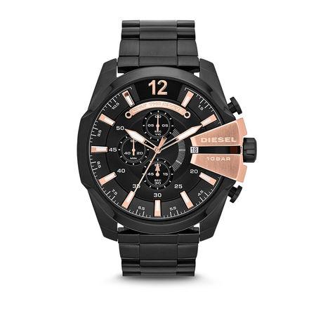 Diesel  Uhren - MEGA CHIEF - in schwarz - für Damen grau